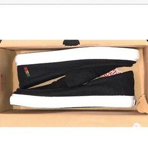 54eb99f64b8 Vans Shoes - Vans Rata Vulc SF Hemp Black Rasta White Shoes 